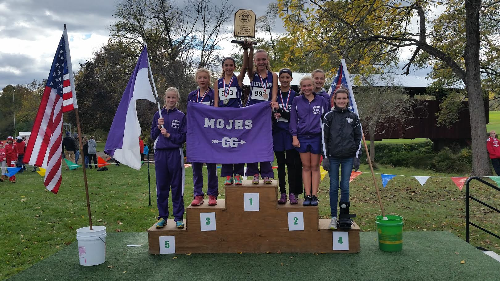 Girls Cross Country State Champs