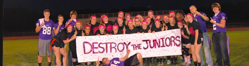 Senior Powder Puff Team