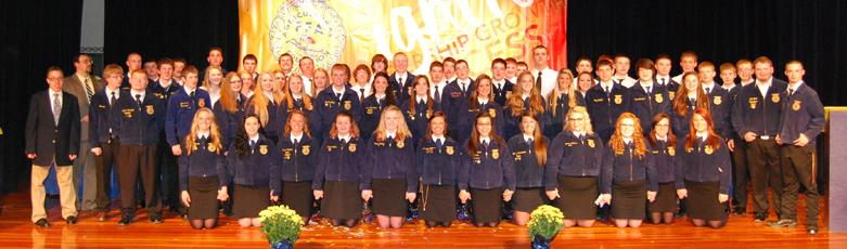 Mount Gilead FFA Chapter 2013-2014