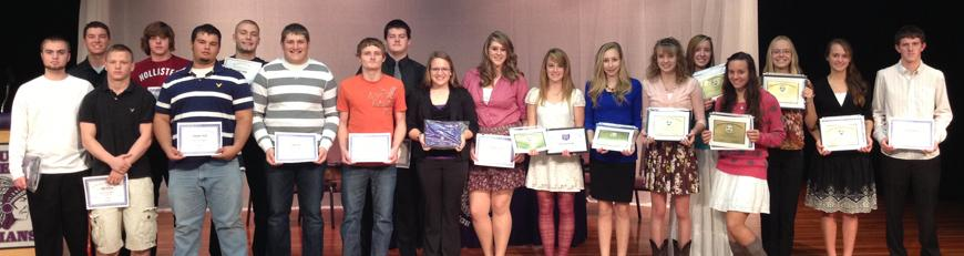 Fall Sports Award Winners