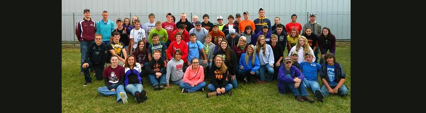 FFA Students attend the Farm Science Review.