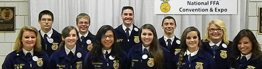 MG FFA Members attend the National FFA Convention in Louisville, KY