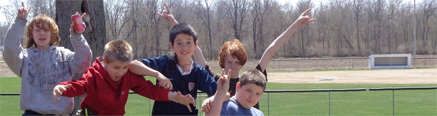 Mrs. Todd's Class Enjoys a nice day outside!