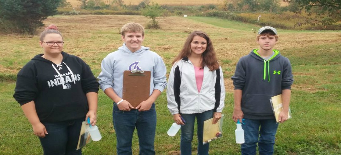 FFA competes in District Soils Competition.