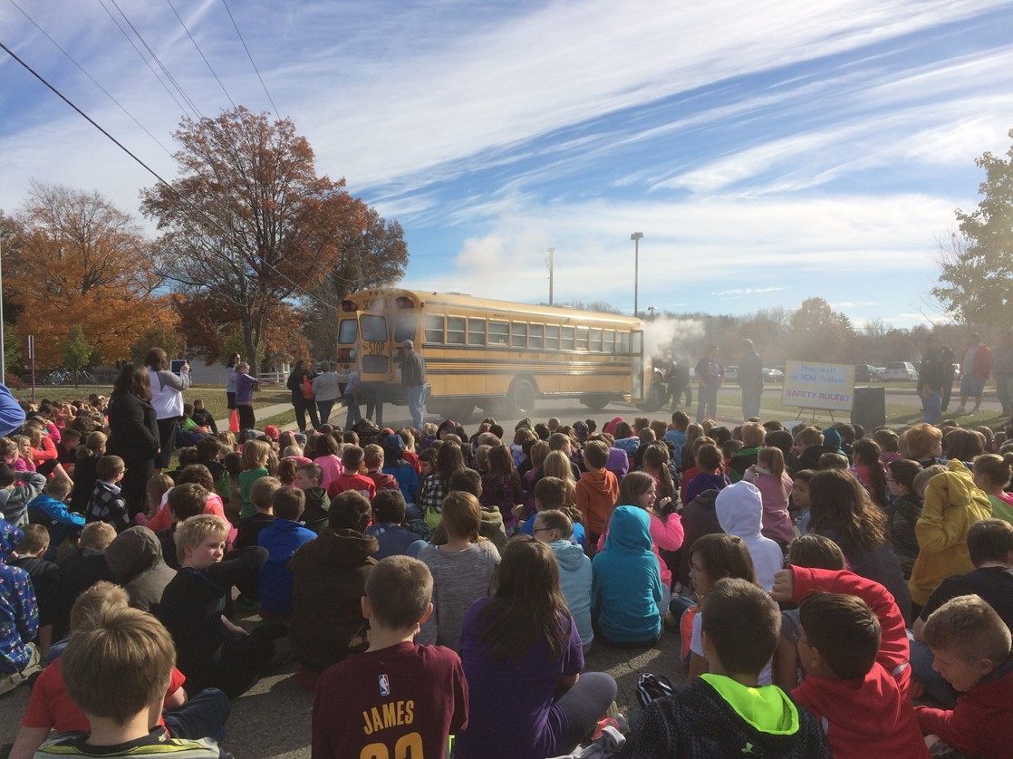 School Bus Safety Demonstration
