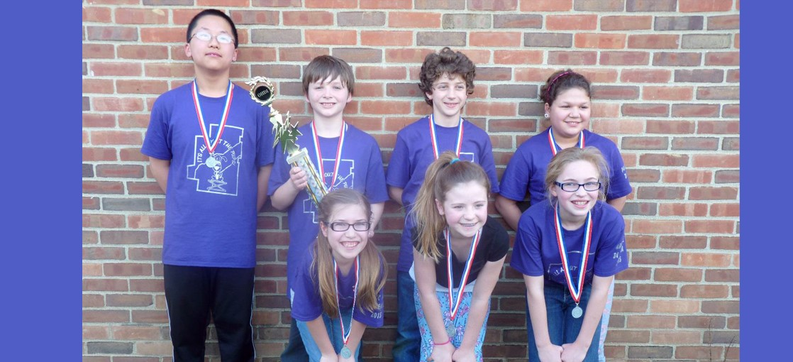 5th Grade  Destination Imagination Team placed 2nd at the State Competition and will be traveling to Knoxville TN May 20-23 to compete at Global Finals
